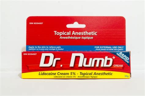 1 tattoo numbing cream recommended for waxing and