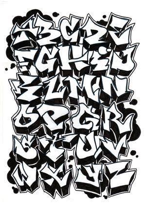 besten graffiti abc bilder auf pinterest