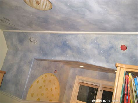 space themed wall murals space wall murals exles custom outer space wall murals