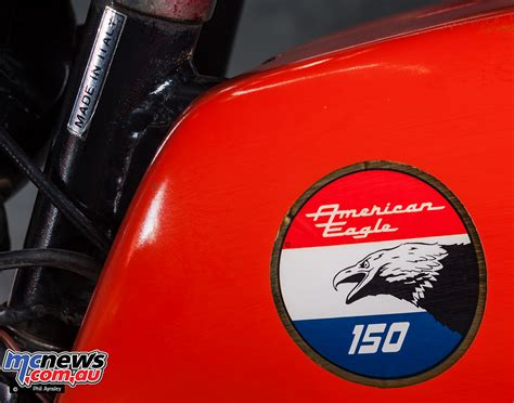 Branded American Eagle laverda motorcycles in the us branded american eagle