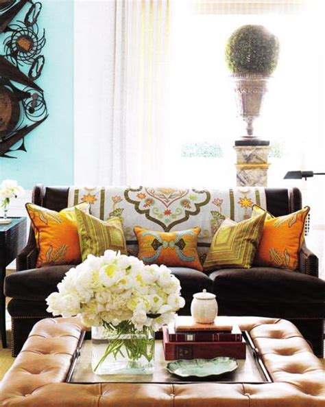 Yellow Blue And Orange Living Room Living Room