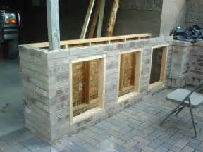 a patio bar project