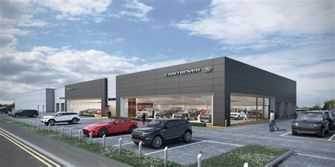 jaguar land rover dealership marshall jaguar land rover centre due to open in oxford