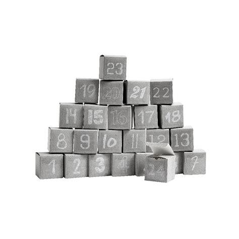 nordal len 24 cubes calendrier de l avent gris marmaille