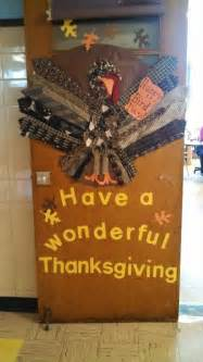 thanksgiving door decoration door decorating pinterest