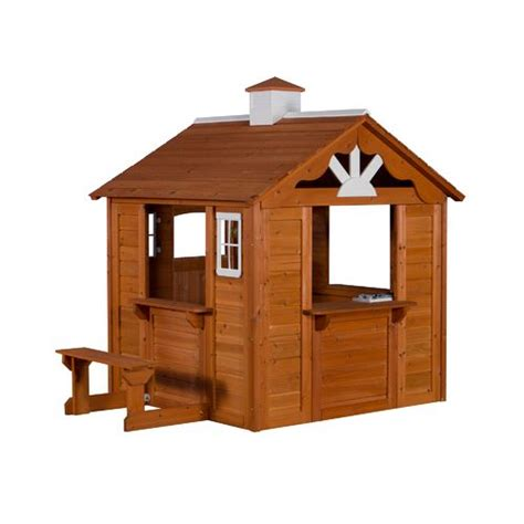 backyard discovery summer cottage playhouse academy