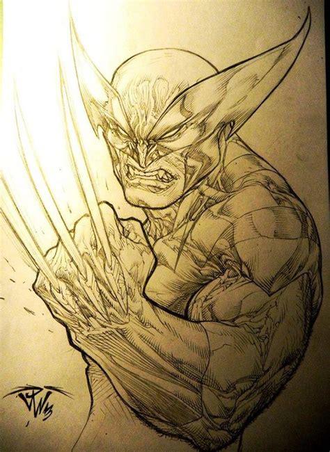 imagenes de wolverine en caricatura a lapiz heroes de marvel y dc a lapiz taringa
