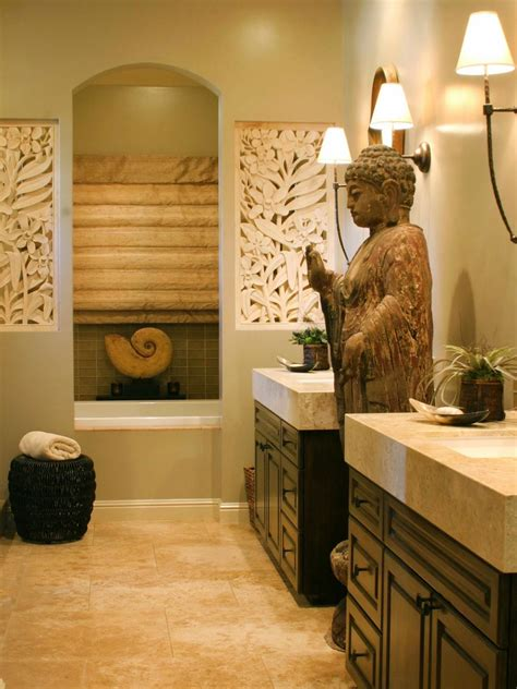 buddha inspired bedroom asian design ideas hgtv