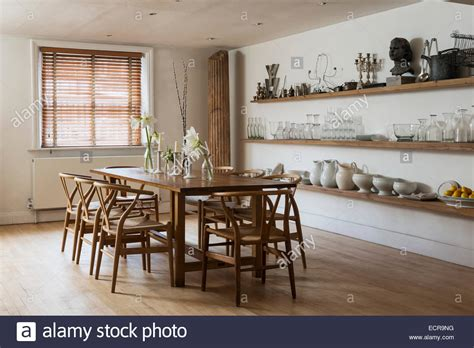 stylish dining room large farmhouse dining table with wooden chairs in stylish