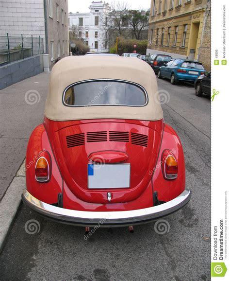 volkswagen old red classic red volkswagen beetle stock photo image 48896
