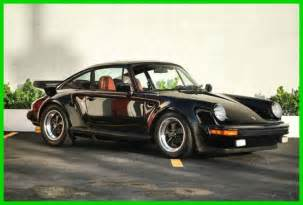 porsche 930 turbo wide 1979 930 turbo 911 wide porsche 3 3l florida