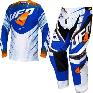 ufo motocross boots 2016 ufo voltage kit combo blue white orange