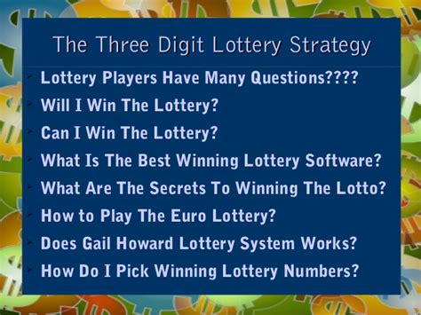 7 Tips On Winning The Lotto by Http Winlottery Bestinfobooks Lottery How To Win