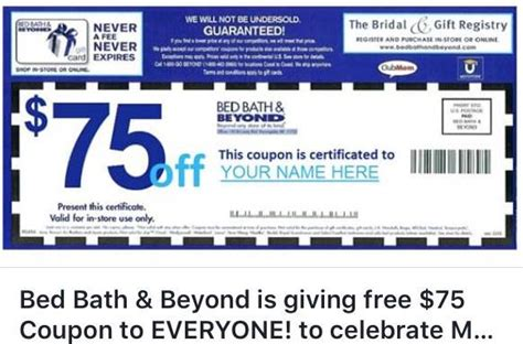 bed bath and beyond ad mother s day scam on facebook here s what to look out for