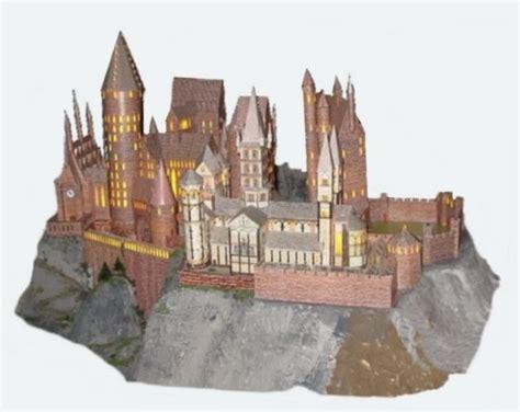Hogwarts Papercraft - pin bouwplaat eiffeltoren knutselen bouwplaten on