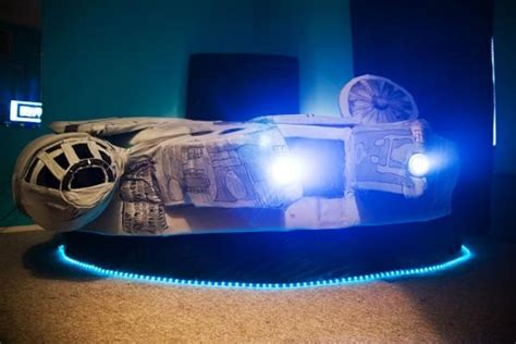 Millennium Falcon Bed by Bed Shaped Like The Millennium Falcon From Wars