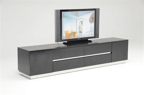 contemporary tv media cabinets black crocodile texture and lacquer tv unit detroit