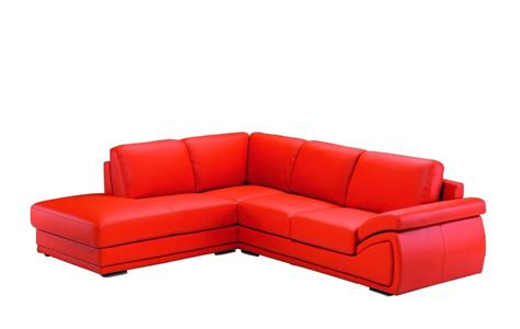 dima salotti orange leather sectional sofa made in