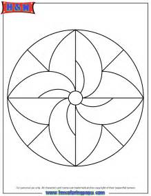 easy coloring pages free coloring pages of simple mandala s