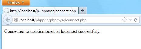 tutorial php connect mysql php mysql connect to mysql database