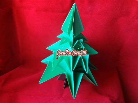 tutorial origami albero di natale albero di natale origami