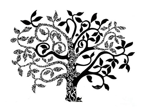 doodle meaning trees tree of painting by anushree santhosh