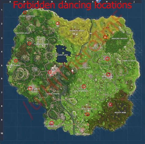 fortnite locations fortnite forbidden locations metabomb