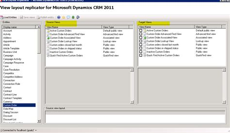 layout xml in ms crm 2011 using view layout replicator for microsoft dynamics crm