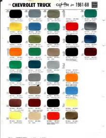 2014 chevy silverado color chart autos post