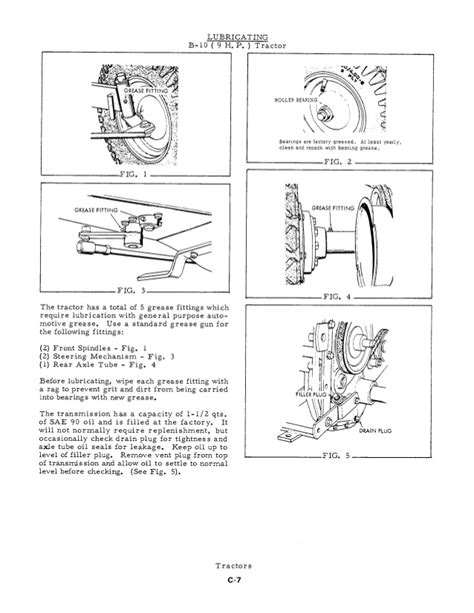 wiring diagram for allis chalmers c tractor cockshutt