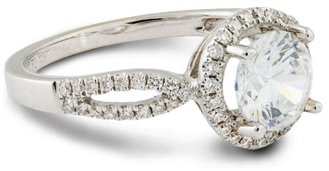 simple contemporary halo engagement ring 6744 arden