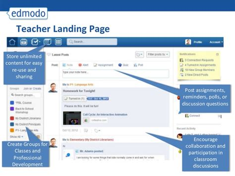 edmodo demo tutorial edmodo untuk guru dan siswa