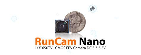 Newest Runcam Nano 650tvl 1 3 Cmos Sensor Pal 2 1mm Fov 160 1 runcam nano securitycamera2000
