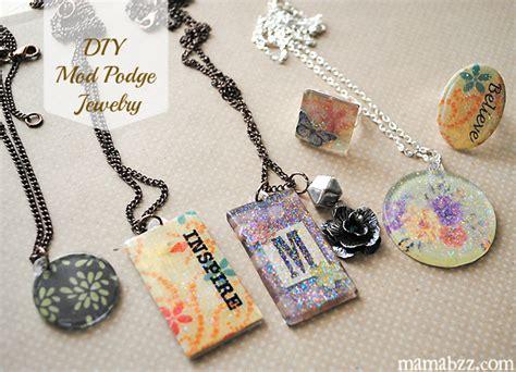Diy Handmade Jewelry - diy handmade jewelry with mod podge adventures of mel