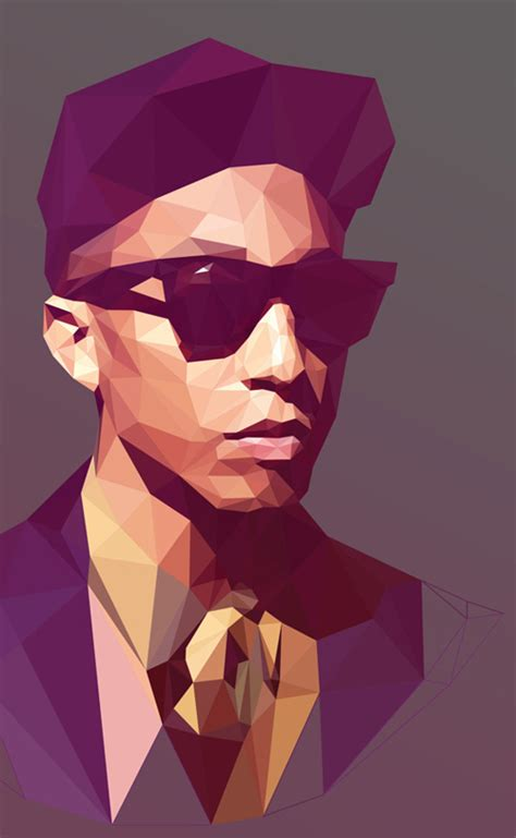 tutorial vector polygon low poly portrait illustrations inspiration graphic