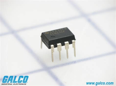 integrated circuit instruments tl071cp instruments integrated circuit galco industrial electronics