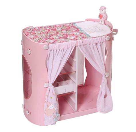 Baby Born Wardrobe And Changing Table Baby Annabell 2 In 1 Wardrobe