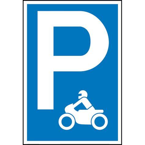 Parken Mit Motorrad by Parkplatzschild Symbol P Motorrad Symbol