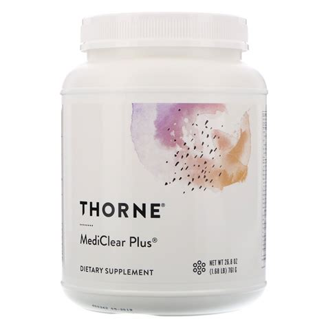 Mediclear Detox Diet Reviews by Thorne Research Mediclear Plus 26 8 Oz 761 G Iherb