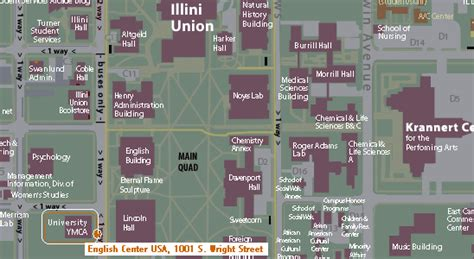 uiuc map of illinois map