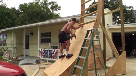 backyard warrior course need to build and practice the warped wall ninja