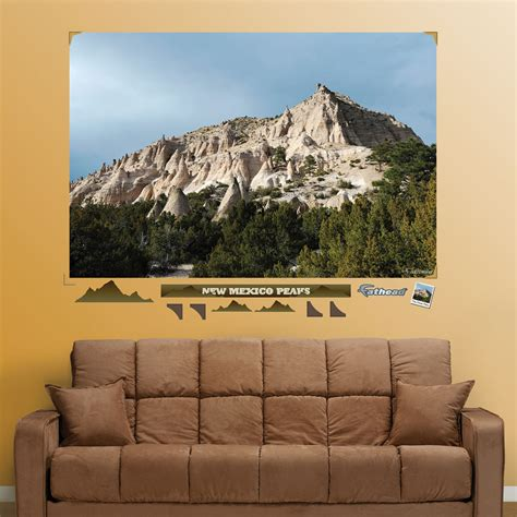 mountain wall mural new mexico mountain peaks mural realbig wall decal