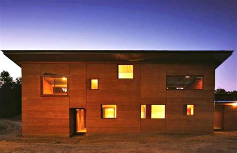 rammed earth house steffen welsch architects rammed earth house produces all its own energy and captures