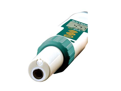 Extech Ph100 Exstik Ph Meter With Flat Surface Electrode extech ph100 waterproof exstik ph meter tequipment net