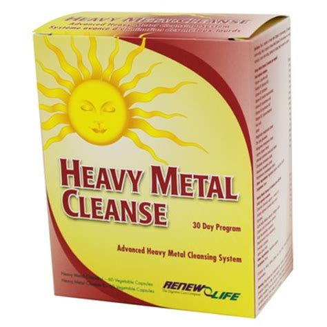 Heavy Metal Detox Professional Health Products by Buy Renew Heavy Metal Cleanse Advanced Cleansing