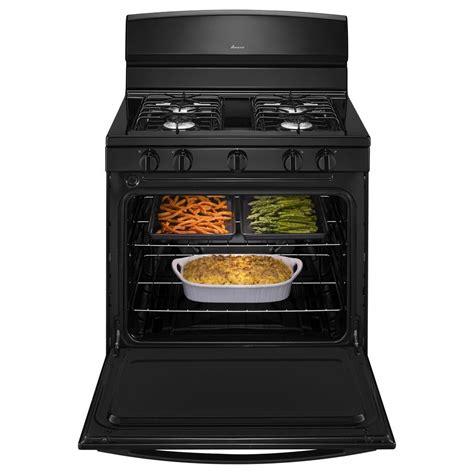 Oven Gas Golden Standard agr4230babamana 30 quot standard clean gas range black