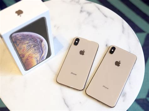 iphone xs  xs max review bigger faster gold er