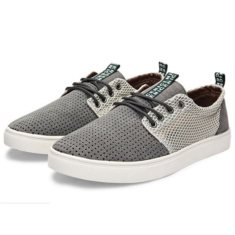 fashion breathable mens shoes low top casual sneakers