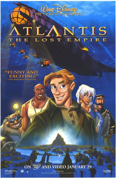 Film Disney Atlantis | atlantis reviewing all 56 disney animated films and more