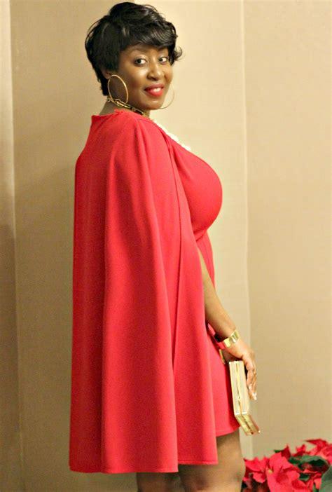 lady  redand cape hypnoz glam
